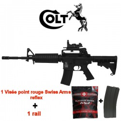 Pack Complet Colt M4 Carbine Full Métal Noir