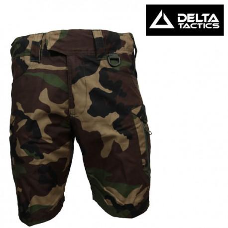 Short Tasks Pants 7 Poches Woodland Delta Tactics