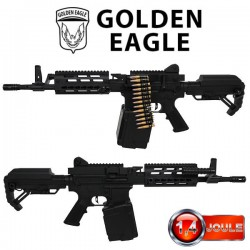 Light Machine Gun Full Métal Version II Golden Eagle