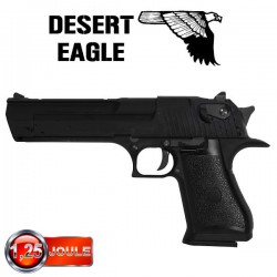 Desert Eagle 50AE Noir Full Métal Blowback