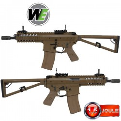 PDW WE Tan Blowback Full Métal