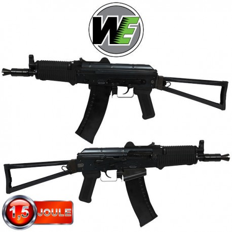 AK74UN WE Black Blowback Full Métal