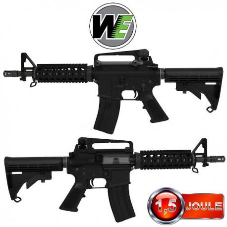 M4 CQB WE Black Blowback Full Métal
