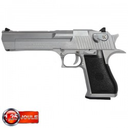 Desert Eagle 50AE Silver Full Métal Blowback