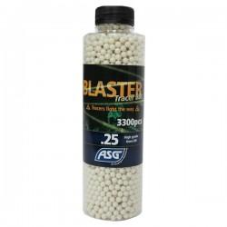 Bouteille de 3300 Billes Blaster ASG 0,25grs Tracer Phosphorescentes