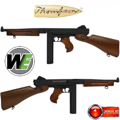 Thompson M1A1 GBBR Black WE/Cybergun