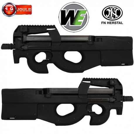 FN P90 Triple Rails GBBR Black WE/Cybergun