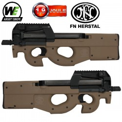 FN P90 Triple Rails GBBR Dark Earth WE/Cybergun