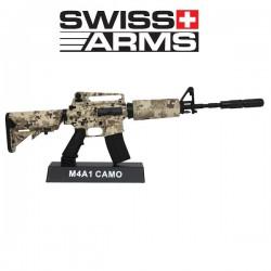 Modèle Réduit M4 Camo Décoratif Swiss Arms