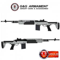 M14 EBR HBA Silver G&G Modèle Long