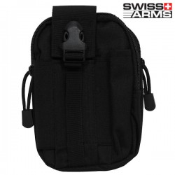 Pochette Tactique Attache Molle Noire Swiss Arms