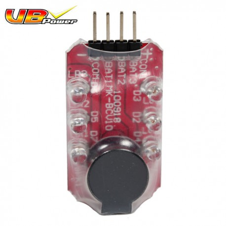 Alarme pour Batteries LiPo