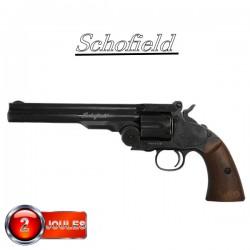 Revolver Schofield Black Full Métal