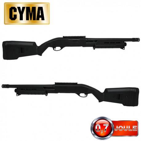 Fusil à Pompe M870 M-Style Short Tactical BK Multi-Shot