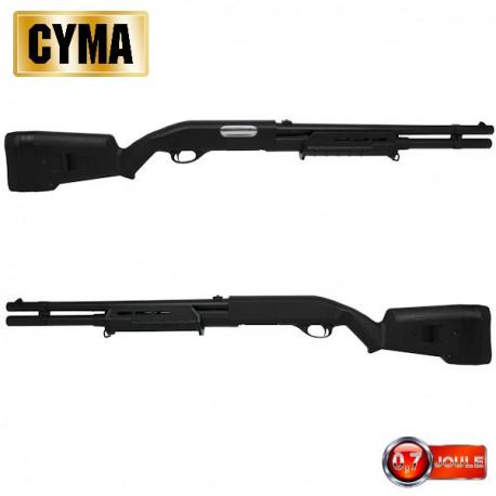 Fusil à Pompe M870 M-Style Long Tactical BK Multi-Shot