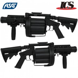 Multiple Grenade Launcher Black ICS