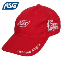 Casquette Rouge 4,5mm Airgun ASG