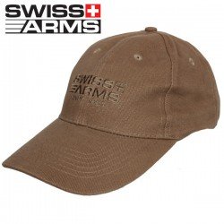 Casquette Swiss Arms Tan