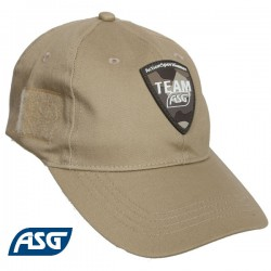 Casquette Team ASG Tan