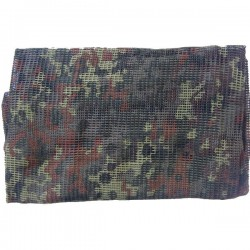 Echarpe Filet Flecktarn 190x90cm Miltec
