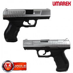 Pistolet Walther P99 bicolore