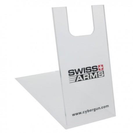 Présentoir en plexiglas Swiss Arms