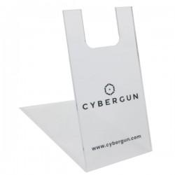 Présentoir en plexiglas Cybergun