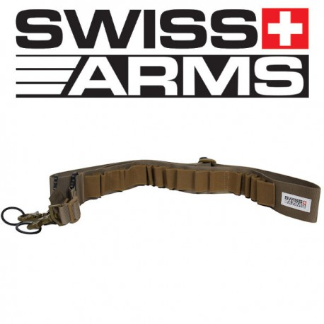 Sangle Cartouchière Tan Swiss Arms