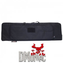 Housse de transport Extensible 100x28cm 2 Compartiments Noire DMoniac en Cordura