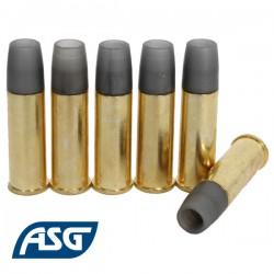 6 Douilles pour Revolver Schofield ASG