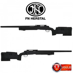 Fusil de Sniper FN Herstal SPR A2 Bolt Noir