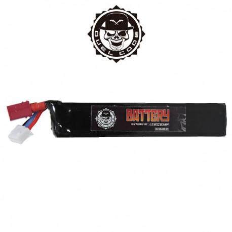 Batterie LiPo 1 Stick 11,1v 800 maH 15C T-Dean Duel Code