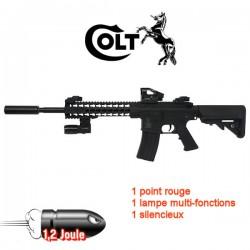 Colt M4 Special Forces Noir Equipé Tactique