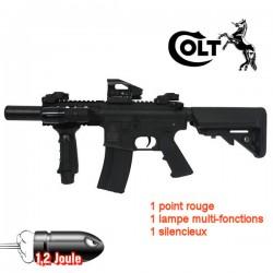 Colt M4 Special Forces Mini Noir Equipé Tactique