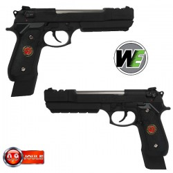 WE HI-Capa Dragon Type A 7 Pouces Noir, Blowback, Full Métal