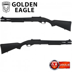 Fusil à Pompe GR 870 Golden Eagle Full Métal Long à Gaz