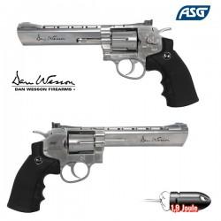 Revolver Dan Wesson 6 Pouces Chromé