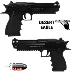 Desert Eagle Blowback Semi/Full Automatique Culasse Métal Noir