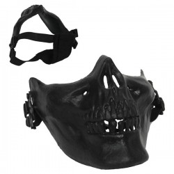Masque Skull G-2 de Déguisement Noir