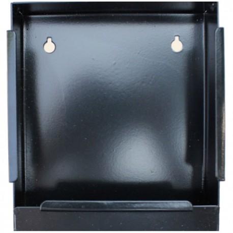 Porte Cible en Métal avec Récupérateur de Billes 14x14cm
