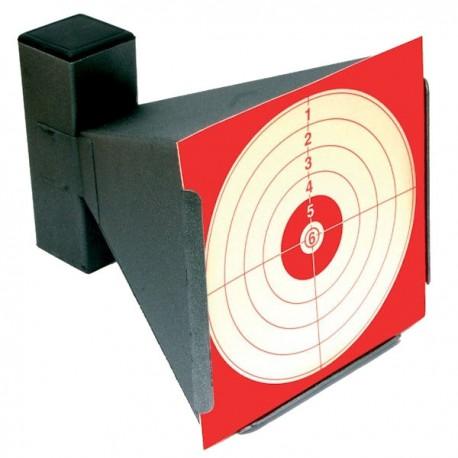 Porte cible acier pour cartons