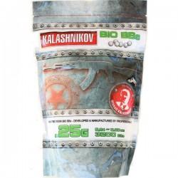 Sachet de 3200 Billes Bio 0,25grs Kalashnikov