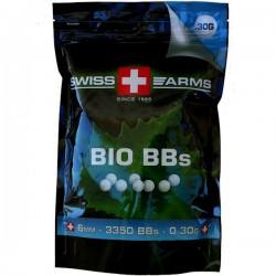 Billes Swiss Arms Biodégradables 0.30grs en Sachet de 1kg