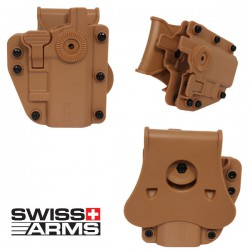 Holster Multi Angles Universel Ambidextre Swiss Arms Adapt-X Level Ranger Green