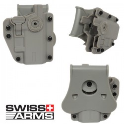 Holster Multi Angles Universel Ambidextre Swiss Arms Adapt-X Level Coyote