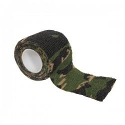Bande Adhésive de Camouflage Woodland