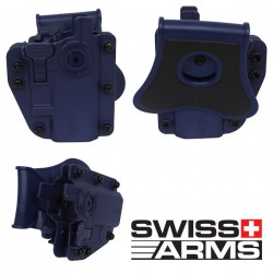 Holster Multi Angles Universel Ambidextre Swiss Arms Adapt-X Level 3 Urban Grey