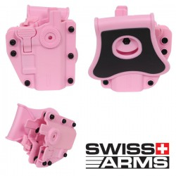Holster Multi Angles Universel Ambidextre Swiss Arms Adapt-X Level 3 Blue