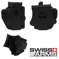 Holster Multi Angles Universel Ambidextre Swiss Arms Adapt-X Level 3 Ranger Green