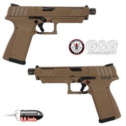Pistolet GTP 9 Noir Blowback G&G Livré en Mallette